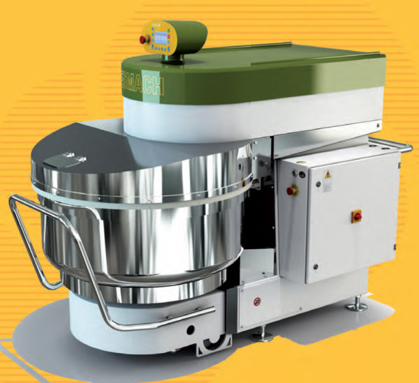 SPI 130 – 300 A Removable Bowl Spiral Mixer Line
