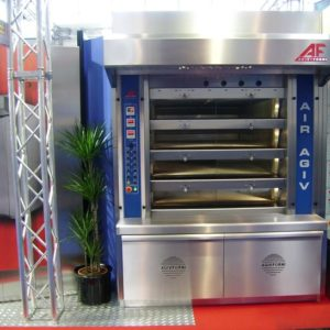 Cyclothermic Gas Deck Ovens